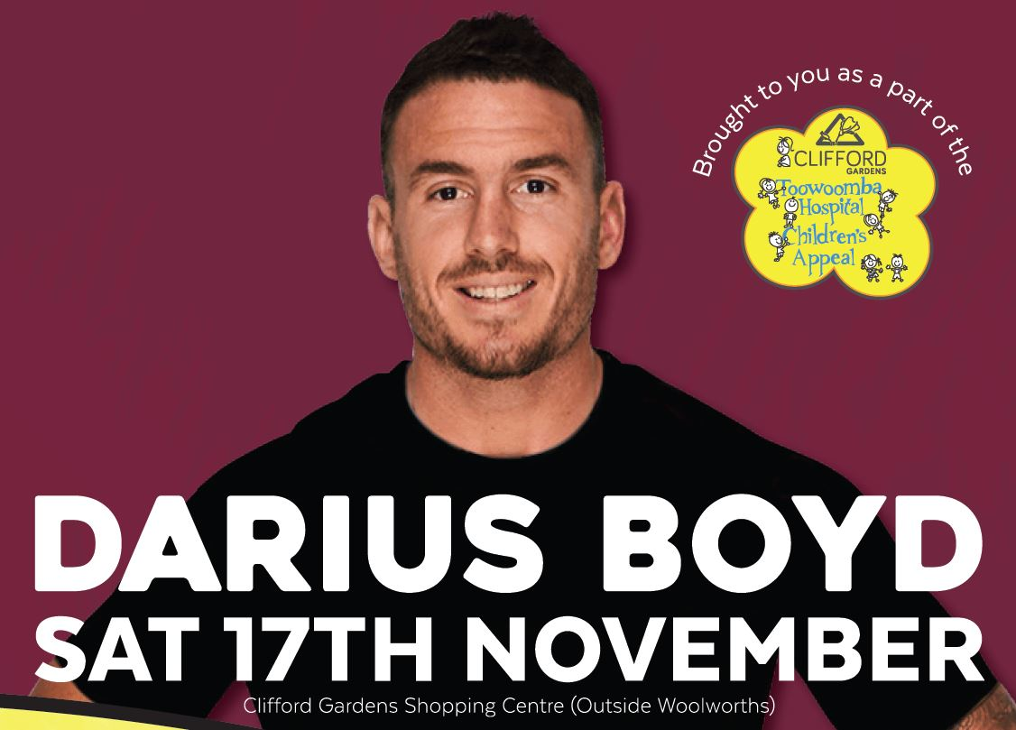 Darius Boyd - Kids Celebrity Football Toss