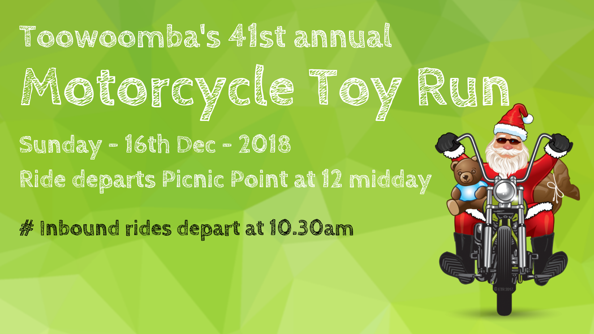 Toowoomba Motorcycle Toy Run